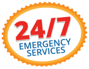 24/7 emergency water leak service