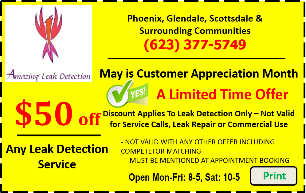 Leak Detection $50 Off Coupon